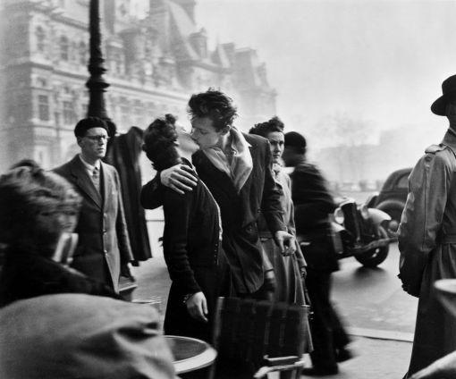 Robert Doisneau. El beso