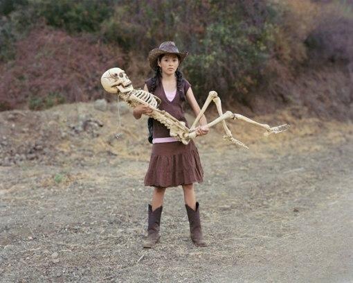 Mujer, esqueleto