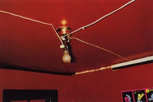 techo, rojo, red, ceiling