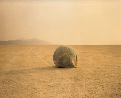 Misrach Desert Croquet #1 Deflated World NV 1987