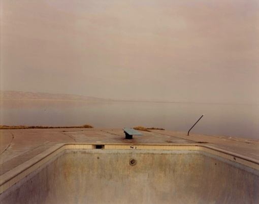 richard misrach diving board, salton sea, 1983