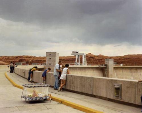 Glen Canyon Dam, Page, Arizona, 1983