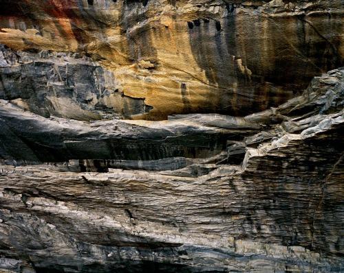 Cantera abandonada de granito, Rultand, Vermont, 1991.