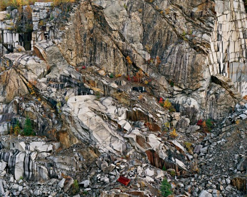 Abandoned Granite Quarry, Rock of Ages Quarry, Barre, Vermont, 1991
