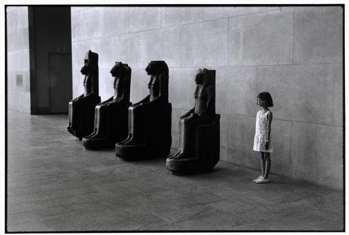 Elliott Erwitt. Museo Metropolitano de Arte. Nueva York, 1988.