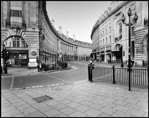 Regent Street, Drifting London, 2004.