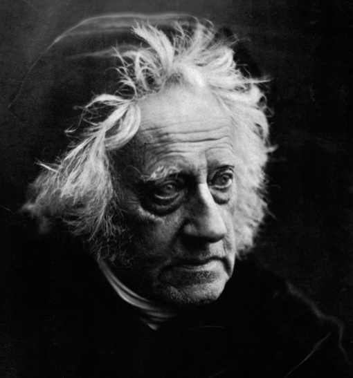 John Herschel por Julia Margaret Cameron