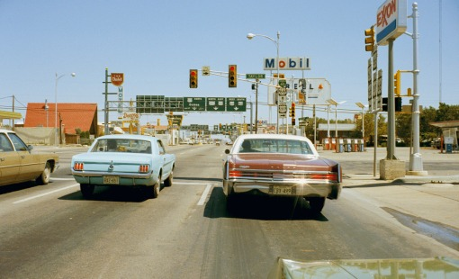 Agosto de 1972. Amarillo, Texas,  Uncommon Places.