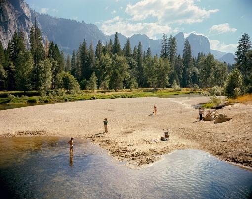 Río Merced, Parque Nacional Yosemite, California. 13 de agosto de 1979.